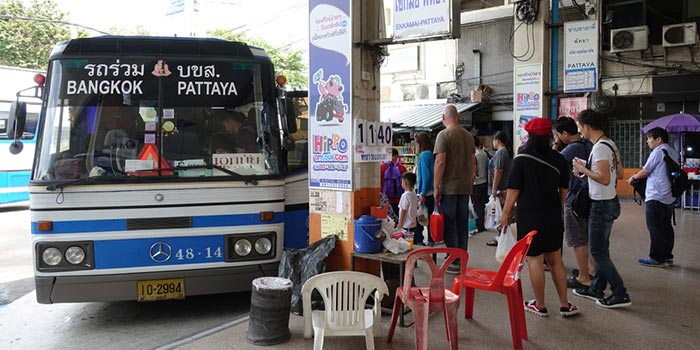 Bangkok to Pattaya by Bus