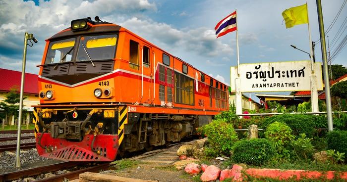Bangkok to Siem Reap by train