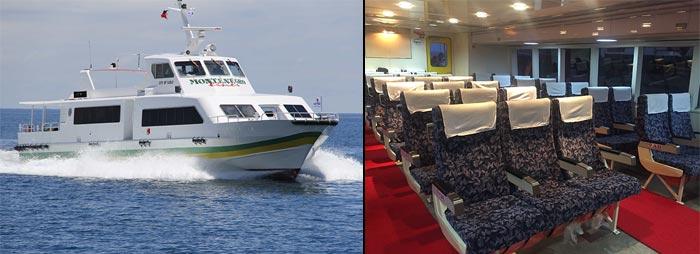 El Nido to Coron by fast boat