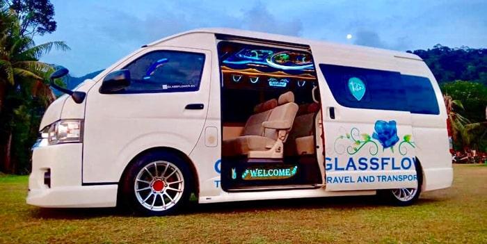 Glassflower Minibus