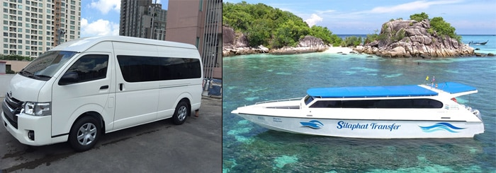 Hat Yai to Koh Lipe by minivan and speedboat