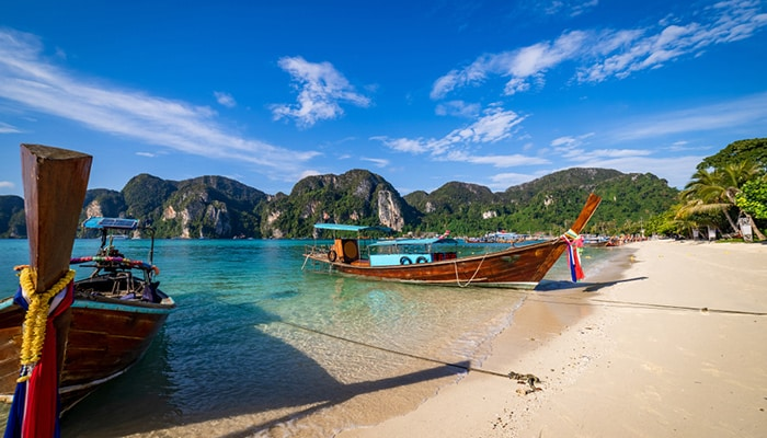 How to travel from Krabi to Phi Phi