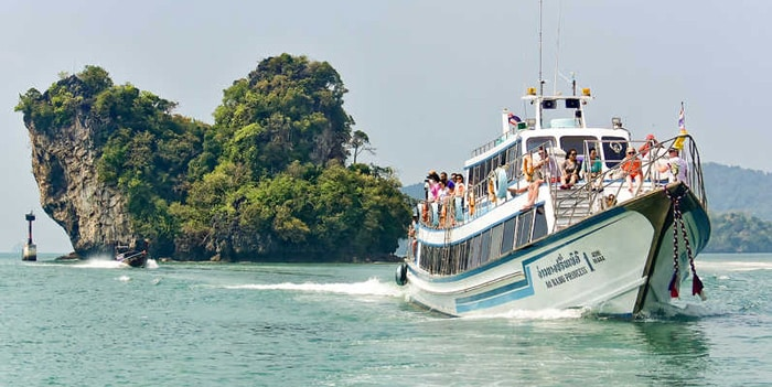 Krabi to Koh Lanta by normal ferry