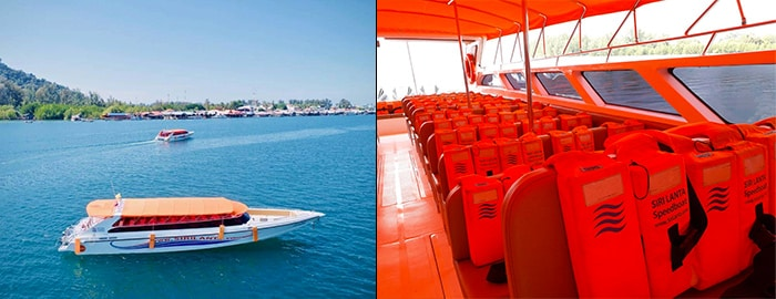 Krabi to Koh Lanta by speedboat