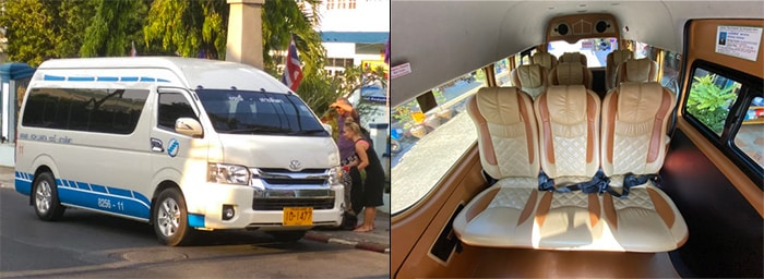 Krabi to Koh Lanta by shared van