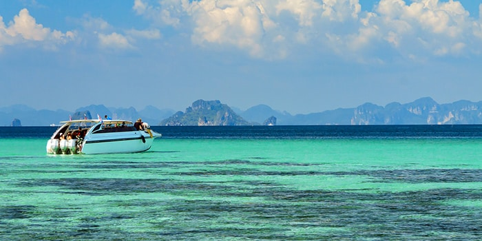 Krabi to Koh Phi Phi by private speedboat