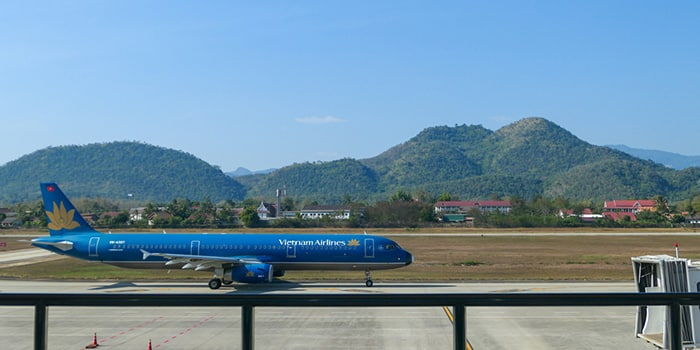 Luang Prabang to Hanoi by Plane