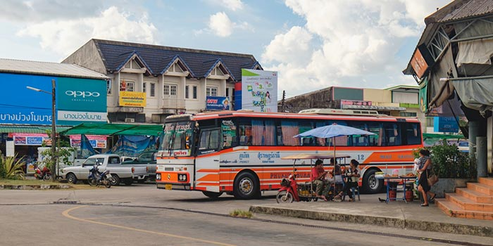 Phuket to Khao Lak by Public Bus