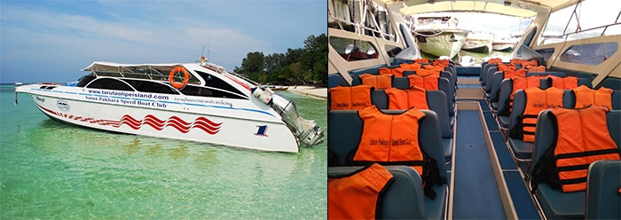Phuket to Koh Lanta by shared speedboat