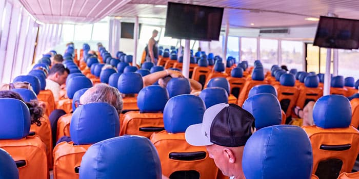 Phuket to Koh Phi Phi by normal ferry