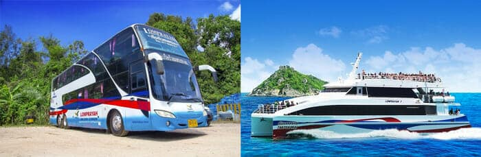 Phuket to Koh Tao by bus and catamaran