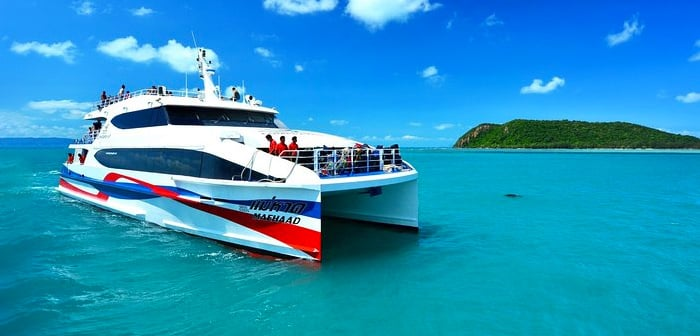 Surat Thani to Koh Samui by catamaran