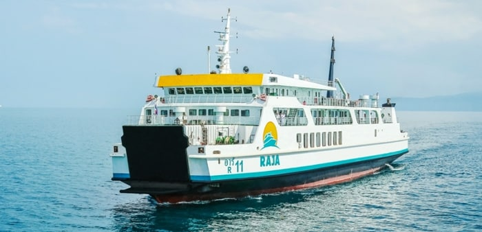 Surat Thani to Koh Samui by normal ferry