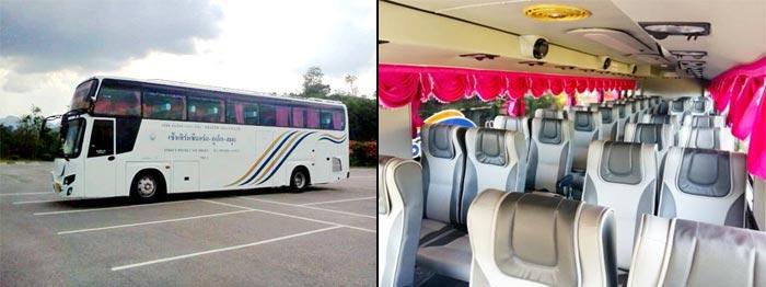 Da Bangkok a Krabi in autobus