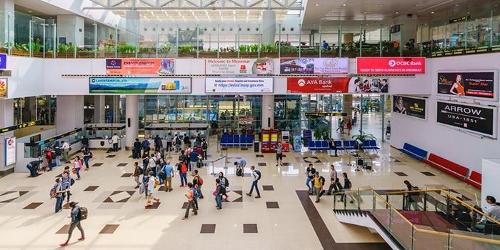 Yangon to Bagan Yangon Airport