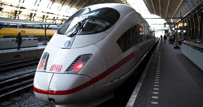 Из Амстердама в Берлин на поезде