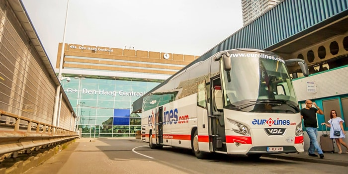 Amsterdam to London by bus