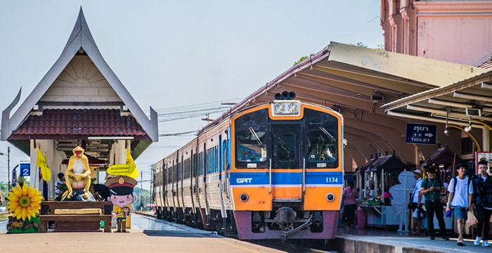 Ayutthaya to Lopburi by Train