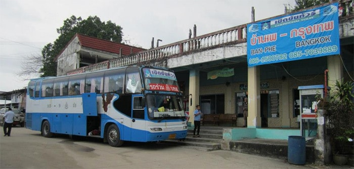 Bangkok to Koh Samet by public bus and ferry