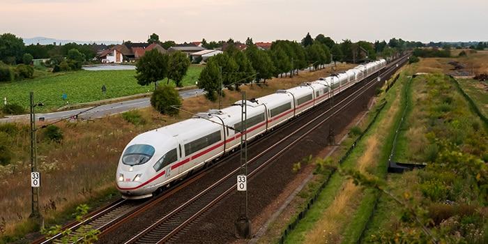 Berlin ke Munich menaiki keretapi