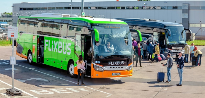 Berlin to Prague by bus