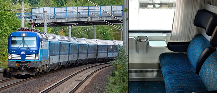 Berlin to Prague by EuroCity train