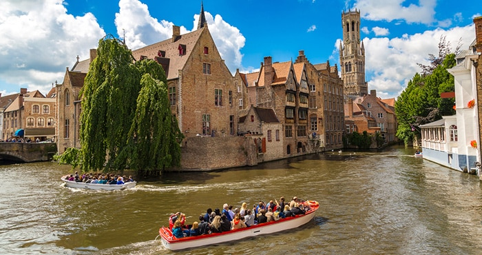 Brussels to Bruges by organised tour