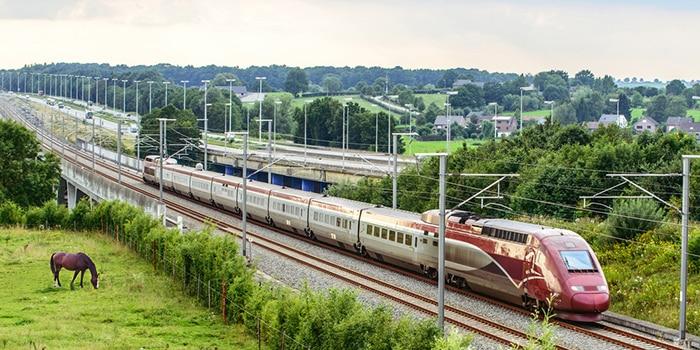 Da Bruxelles a Parigi con il treno ad alta velocità