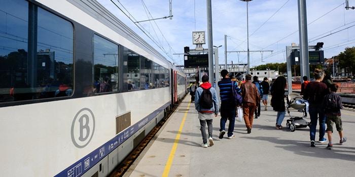 Da Bruxelles a Parigi con il treno normale