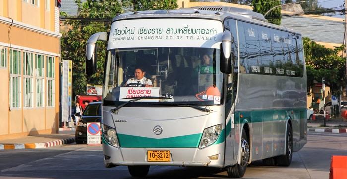 Chiang Mai to Chiang Rai by bus