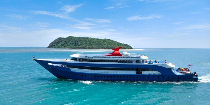 Chumphon to Koh Tao by normal ferry