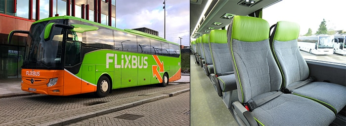 Из Эйндховена в Амстердам на обычном автобусе