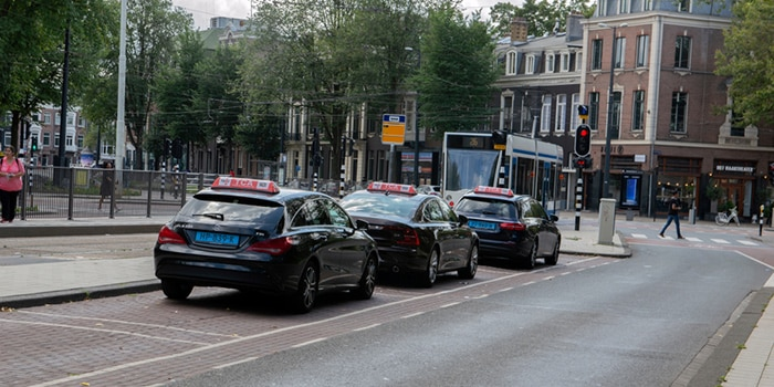 Da Eindhoven ad Amsterdam in taxi