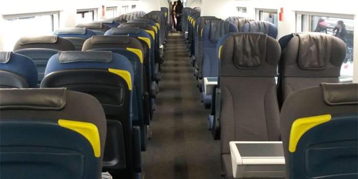 Eurostar Train Seating