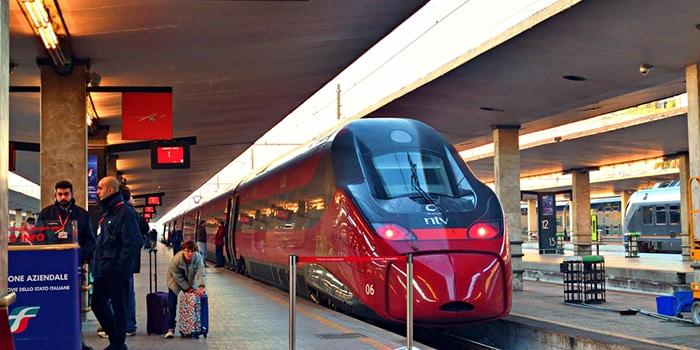 Florence to Rome by high-speed train