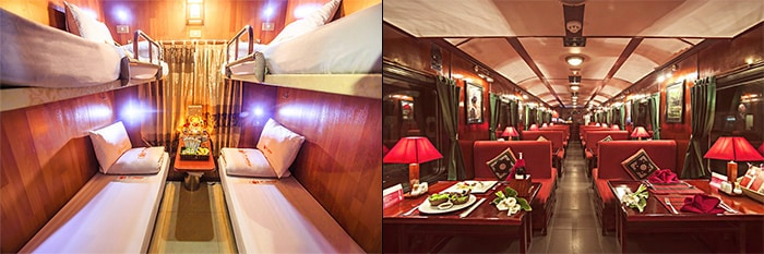 Hanoi to Sapa by sleeper train