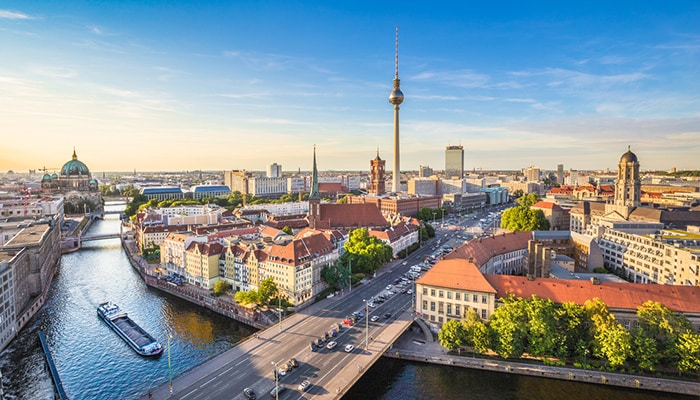 Jak dojechać z Amsterdamu do Berlina