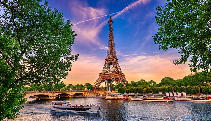 How to go from London to Paris