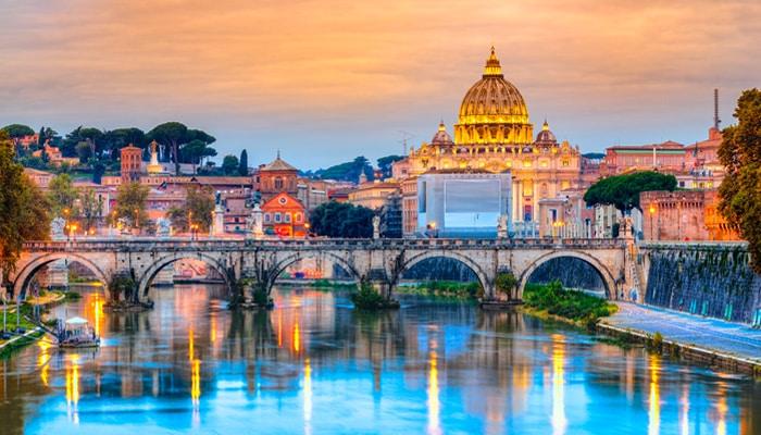 Come andare da Parigi a Roma