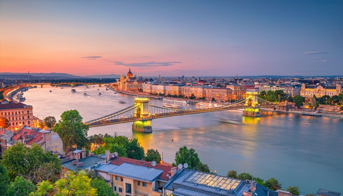 How to go from Prague to Budapest