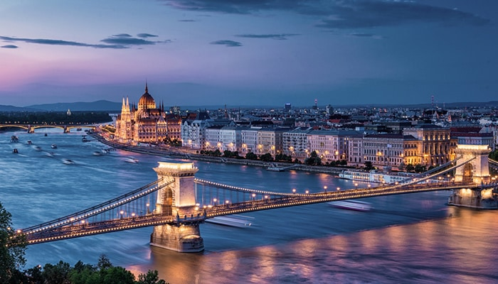 How to go from Vienna to Budapest
