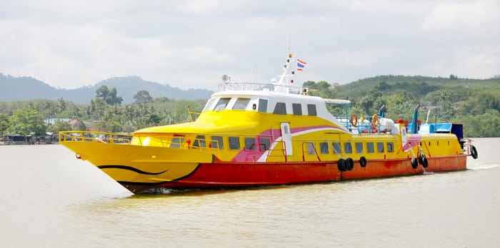 Krabi to Koh Lipe by high-speed ferry