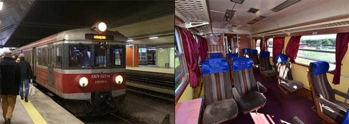 Krakow to Auschwitz by train
