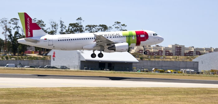 Lisbon ke Porto menaiki kapal terbang