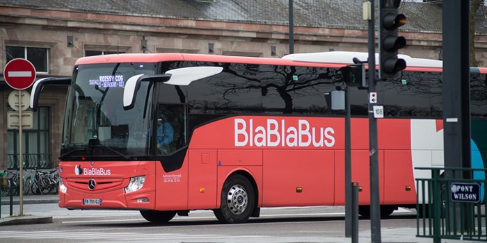 London to Brussels by bus