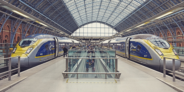 London to Brussels by train
