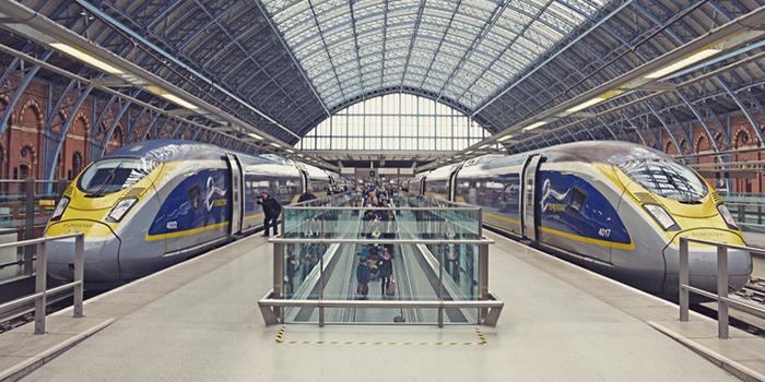 Из Лондона в Брюссель на поезде
