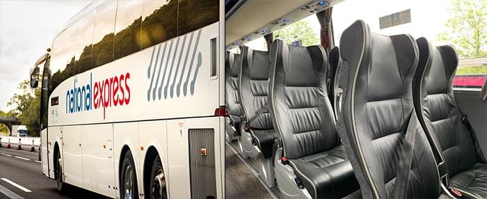 バスでロンドンからマンチェスターへ