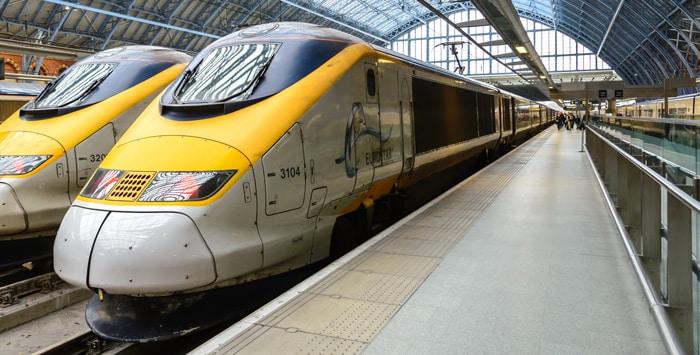 Da Londra a Parigi in treno