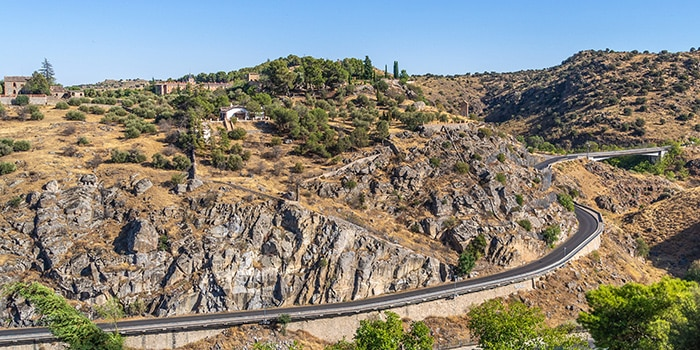 Madrid to Toledo by car